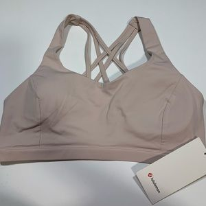 NWT Lululemon Free to Be Serene Sports Bra Size 12